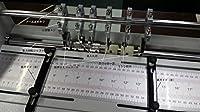 電動ミシン目加工/ 筋入れ加工/ スリッター加工 A3 卓上タイプ 1台3役 ASSM2-460