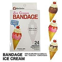 Bandage アイスクリーム バンドエイド 絆創膏 ICECREAM アメ雑 アメリカ雑貨