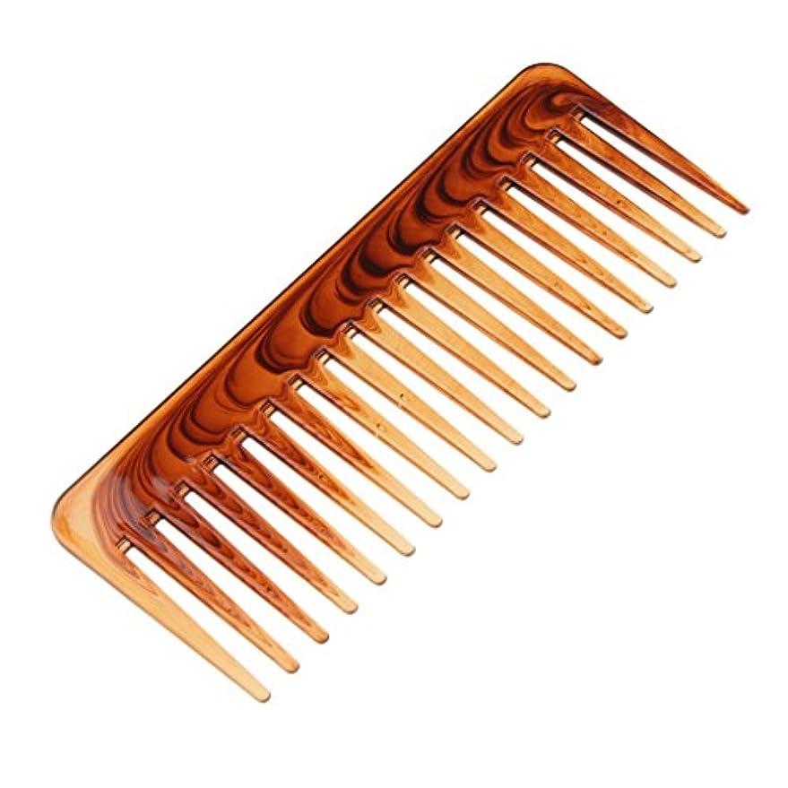 嘆く苦難効果的絡み合った髪の櫛ヘアコンディショニングレーキの櫛幅のあるヘアブラシのツール