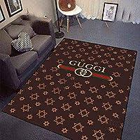 YETUGE-X ラグカーペット 絨毯カーペット 長方形 四角 防音 おしゃれ 洗える 北欧 オールシーズン カーペット 絨毯 リビングラグ (160*230CM,108)