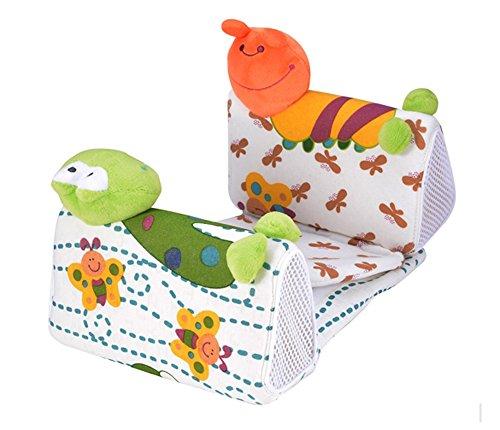 Walant 赤ちゃん枕 寝返り防止クッション 柔らかいベビー枕 幅の調整可能
