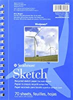 Strathmore STR-657-6 No.60 Wind Power Sketch, 6.25 by 8.5 by Strathmore