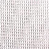 コットンワッフル生地 布 無地 服地 タオル地 ベビーピンク 巾約110cm×50cm切売カット KF3970WF-1-50CM