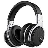 Mighty Rock E7 ワイヤレス ノイズキャンセリング Bluetooth ヘッドホン 密閉型 高音質 30時間再生 ハンズフリー通話可能 iphone X PC Mac などに対応 ヘッドフォン