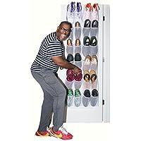 Mirellaの家Lポケット靴オーガナイザーの大きな靴 L ホワイト