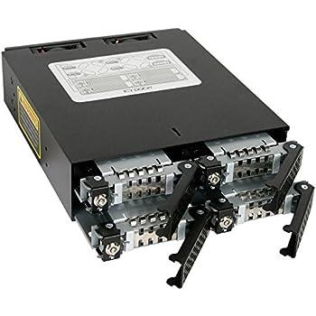 CREMAX HDD/SSD搭載用モジュールケース ロック鍵付5インチベイ