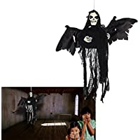Flying Ghost | Hanging Floating Skeleton Ghost | Halloween Decoration Shaking Ghost | Dazzling Toys [並行輸入品]