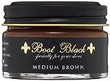 レディース ミディアム [ブートブラック] BootBlack COLOR SHOE CREAM BBクリーム55 (MIDIUM BROWN(ミディアムブラウン)55g)