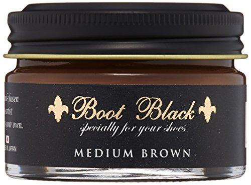 [ブートブラック] BootBlack COLOR SHOE CREAM BBクリーム55 (MIDIUM BROWN(ミディアムブラウン)55g)...