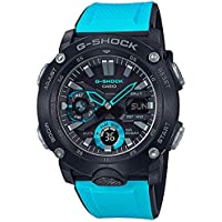 Men's Casio G-Shock Carbon Core Blue Resin Band Watch GA2000-1A2
