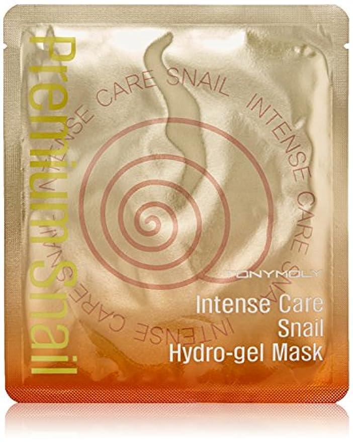 磁石不道徳癌トニーモリー インテンスケア スネイル ハイドロゲルマスク 1枚