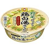 マルちゃん 大人のこだわり野菜鶏白湯拉麺 113g×12個