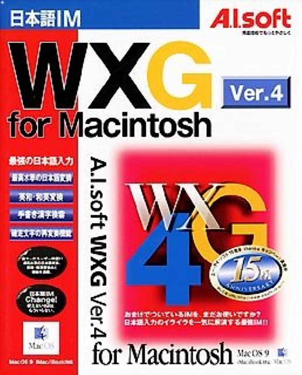 理容師中止します協同WXG Ver.4 For Macintosh