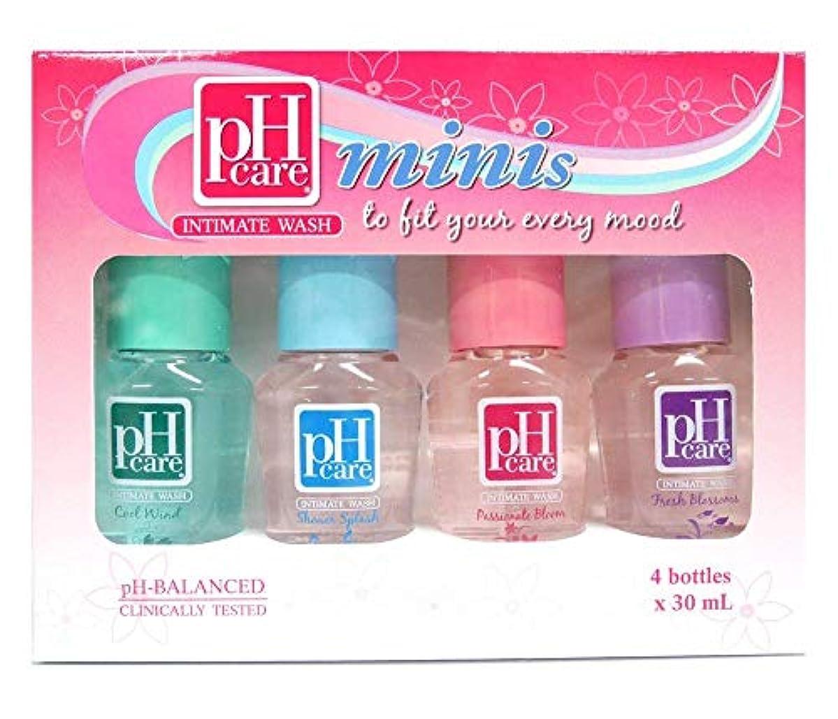 世代コンピューターを使用する海藻pH CARE INTIMATE WASH Minis Collection 4 bottles × 30ml ×2箱セット【PHILIPPINES】