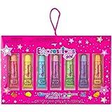 Expressions Girl 7PC Flavored Shimmer Lip Gloss for Girls, Kids Lip Gloss Set