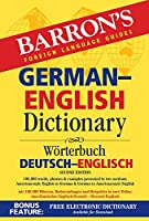 Barron's German-English Dictionary (Barron's Bilingual Dictionaries)