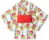 (タキヒヨー)Takihyo(タキヒヨー) ツバキ浴衣風ワンピース 313440353 00 ホワイト 110