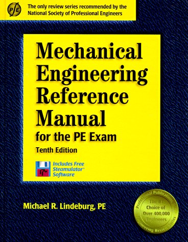 Download Mechanical Engineering Reference Manual for the Pe Exam: For the Pe Exam (Engineering Reference Manual Series) 1888577134