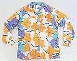 女性用長袖アロハシャツ (古着) サイズ18  ハワイ