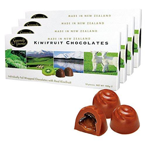 ニュージーランドお土産 キウイフルーツチョコレート 4箱セット