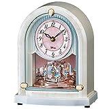 SEIKO CLOCK ディズニーハイライン セイコークロック ディズニーハイライン 電波置き時計 FS201Wの画像