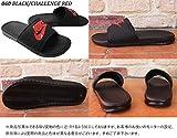 (ナイキ)NIKE 343880 ベナッシ JDI シャワーサンダル ユニセックス US8(26cm) (060)BLK/C.RED