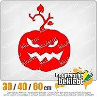 KIWISTAR - Evil Pumpkin Fies Horror Pumpkin 15色 - ネオン+クロム! ステッカービニールオートバイ