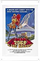 映画の金属看板 ティンサイン ポスター / Tin Sign Metal Poster of Movie 2069: A Sex Odyssey