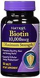 【Natrol】育毛サプリ ビオチンBiotin並行輸入品