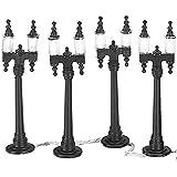 Department 56 Village Double Street Lamps Set of 4