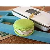 食品サンプル屋 食品サンプル 携帯ストラップマカロン グリーン 02P03Dec16