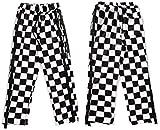 [IE-47] ロングパンツ ズボン パンツ メンズ レディース ギンガムチェック スウエット ダンス ストリート ウエア 長ズボン