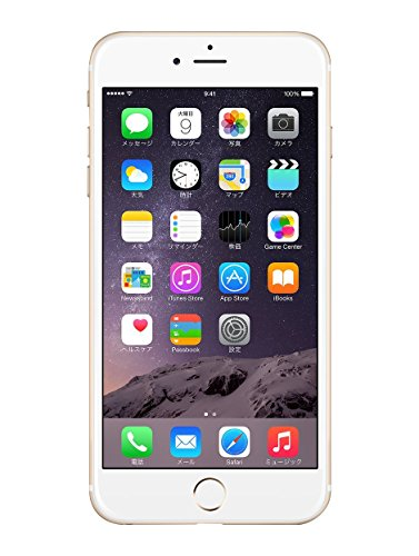 Apple iPhone 6 Plus 128GB ゴールド 【au 白ロム】MGAF2J