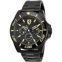 [フェラーリ]FERRARI メンズ XX Kers マルチカレンダー ブラック ステンレス 830309 腕時計 [並行輸入品]