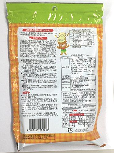 カネ増 低脂肪乳ミルクパン 45g×10袋