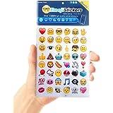 Allure Love(アリュールラブ) 絵文字ステッカー シール  顔文字 Emoji Stickers  携帯 ノート パソコン 装飾 28枚セット