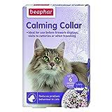 (ビーファー) Beaphar ペット用 カーミングカラー 犬・猫用 首輪 落ち着く しつけ ペット用品 (猫用首輪) (ランダム)