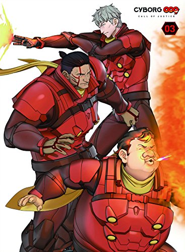 CYBORG009 CALL OF JUSTICE Vol.3(初回生産限定版) [Blu-ray]