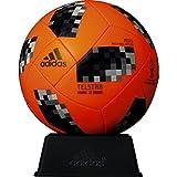 adidas(アディダス) サッカーボール レプリカ ミニモデル(直径約15cm) 2018年 FIFAワールドカップ 試合球 置き台・化粧箱付き テルスター18 ミニ AFM1300OR オレンジ