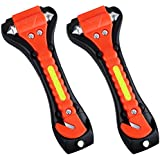 Car Safety Hammer, VicTsing Emergency Escape Tool [Window Breaker] [Seat Belt Cutter] Life Saving Survival Kit - 2 Pack