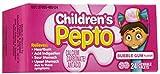 海外直送品Pepto-Bismol Pepto-Bismol Children Chewable Tablets Bubble Gum Flavor, Bubble Gum Flavor 24 tab