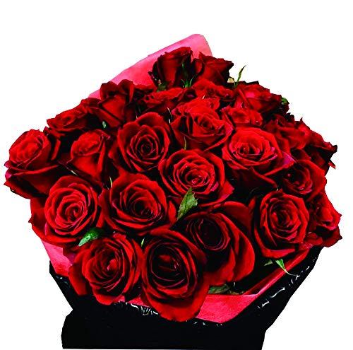 赤バラの花束 生花 バラ 30本 赤バラ プレゼント ギフトにはちょうど良いボリューム amazon価格です 現在店頭では¥6,000で販売しております。