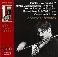 Overture No. 9 / Violin Concerto No.1 / Fantasy for Strings by Leonidas Kavakos (2005-03-29)