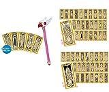 カードキャプターさくら 封印の杖&クロウカード、クロウカードコレクションセット ライト&ダーク 3点セット