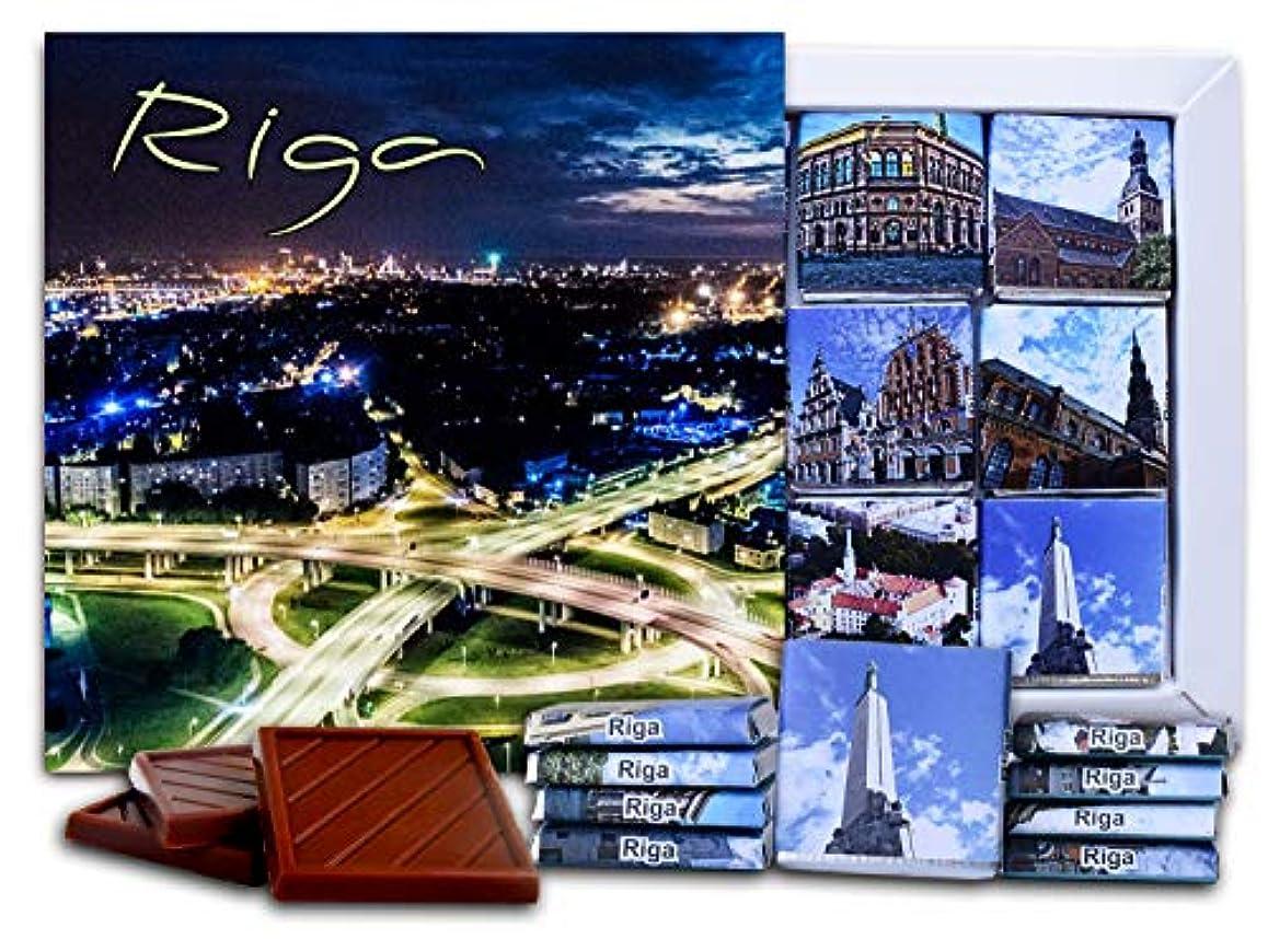 権威威信救出DA CHOCOLATE キャンディ スーベニア  リガ  RIGA チョコレートセット 5×5一箱 (Lights)