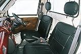 ハイゼットトラック S200P/S210P 前期 シートカバー 黒