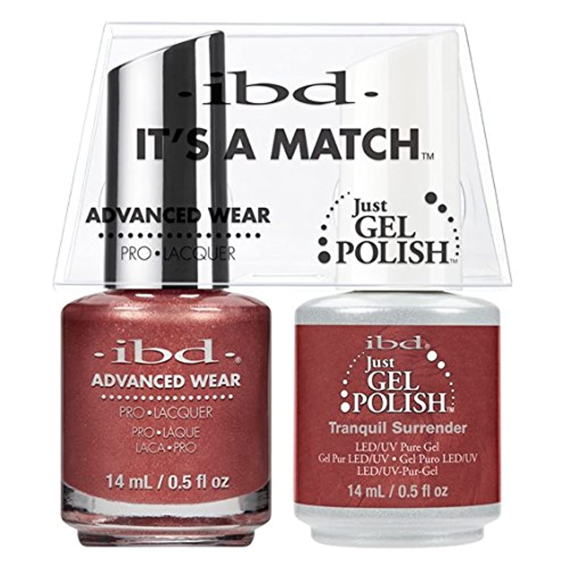 評論家ドナーダンスibd - It's A Match -Duo Pack- Tranquil Surrender - 14 mL / 0.5 oz Each