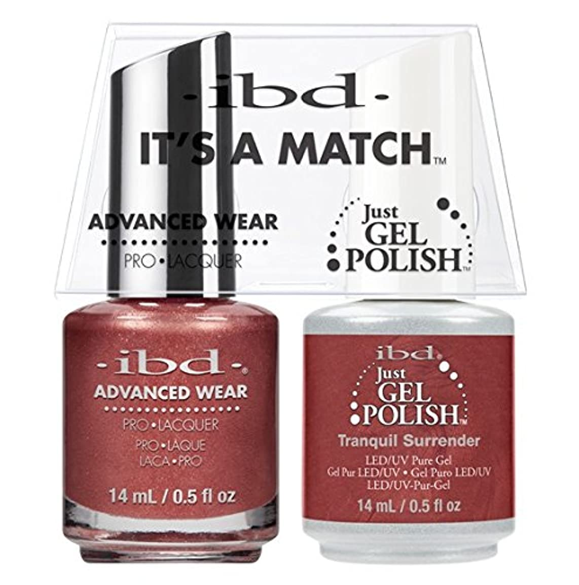 翻訳者ラップトップスキームibd - It's A Match -Duo Pack- Tranquil Surrender - 14 mL / 0.5 oz Each