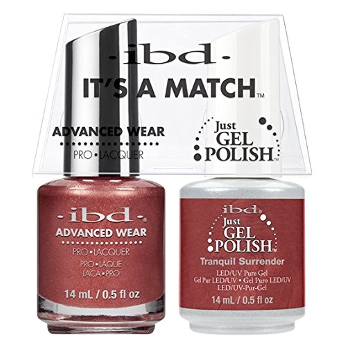 ibd - It's A Match -Duo Pack- Tranquil Surrender - 14 mL / 0.5 oz Each