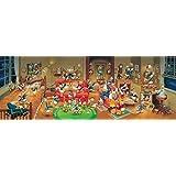 950ピース ジグソーパズル ディズニー 歴代ドナルドダック大集合!(34x102cm)